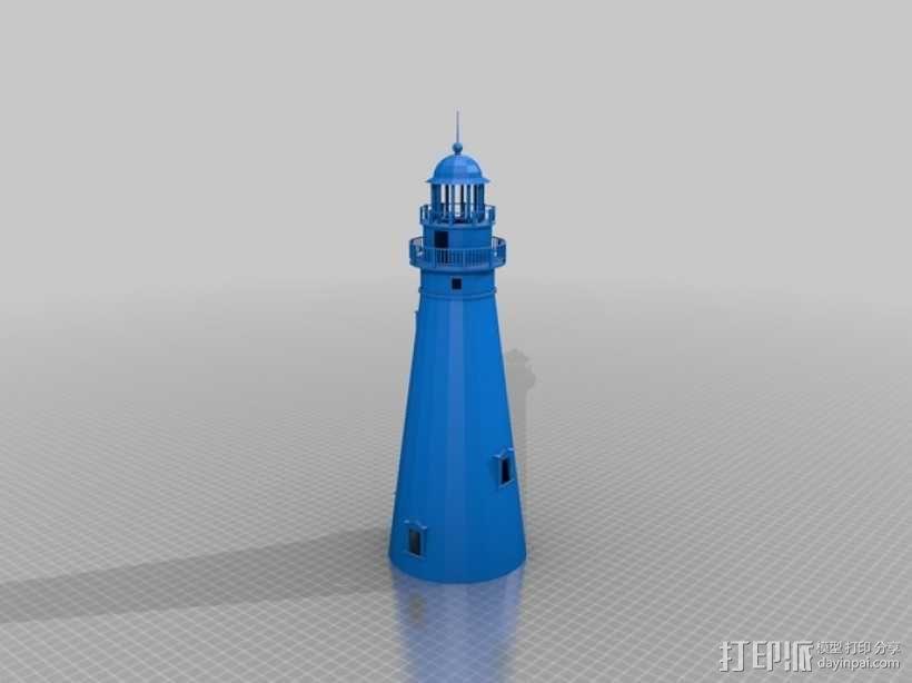 灯塔  3D模型  图1