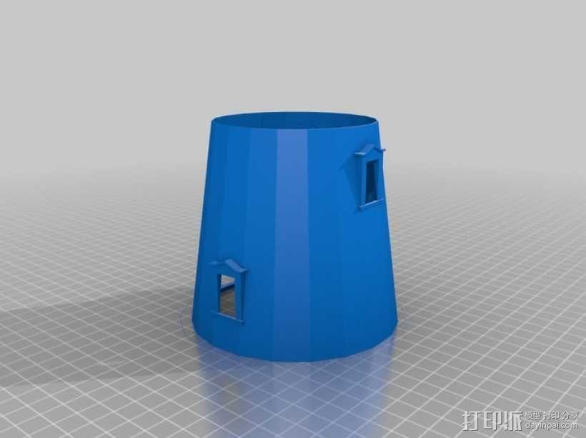 灯塔  3D模型  图11