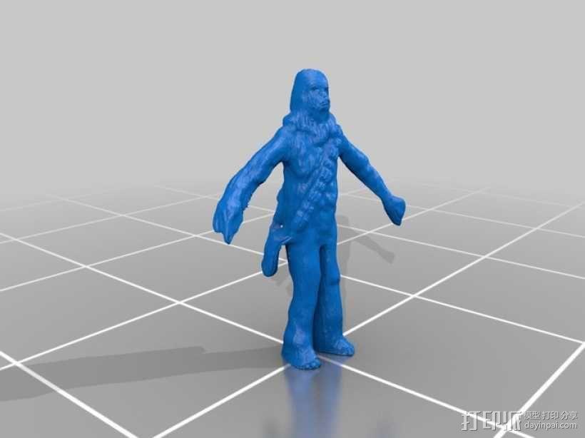 楚巴卡 3D模型  图1