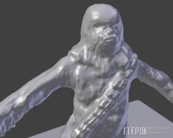 楚巴卡 3D模型  图3