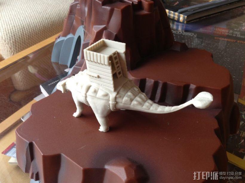 甲龙 恐龙 3D模型  图2