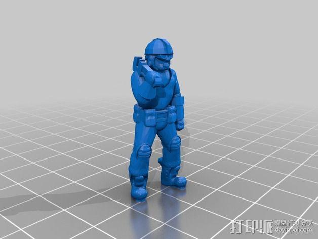 人像模型 3D模型  图6