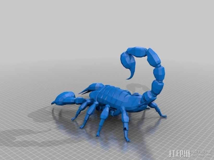 新维加斯蝎子 3D模型  图1