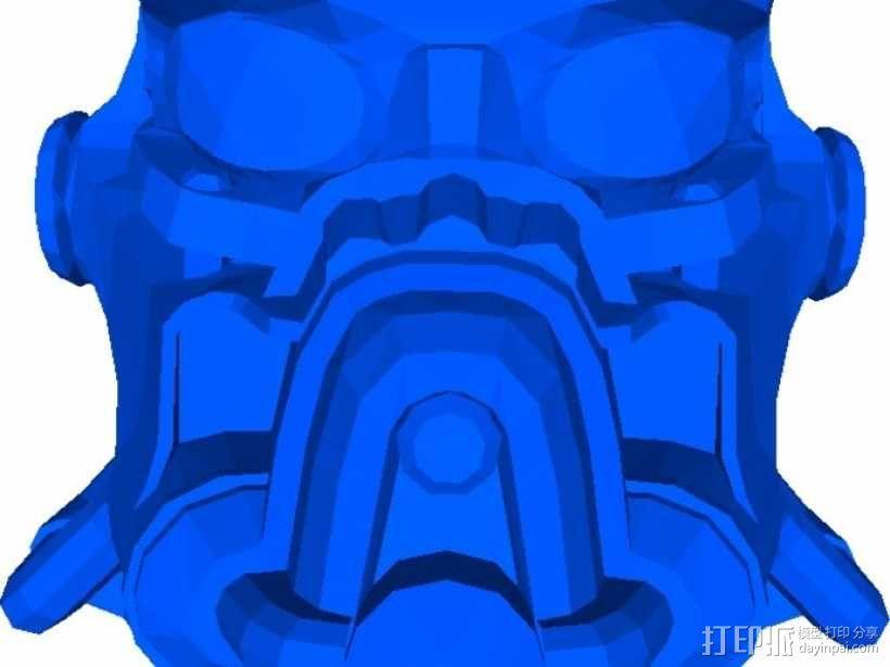 英雷克动力头盔 3D模型  图3