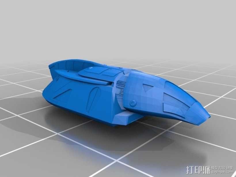 飞萤航空飞机 3D模型  图1