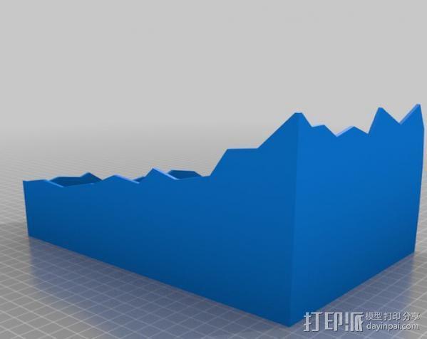 游戏废墟建筑 3D模型  图2