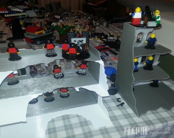 游戏废墟建筑 3D模型  图4