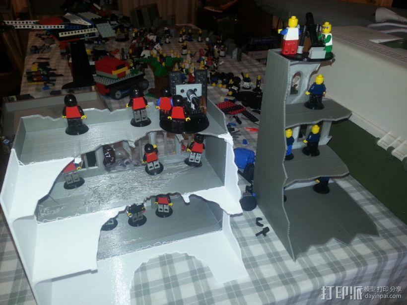 废墟建筑模型 3D模型  图3
