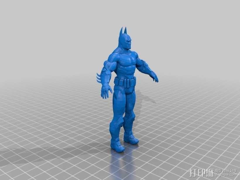蝙蝠侠  3D模型  图1