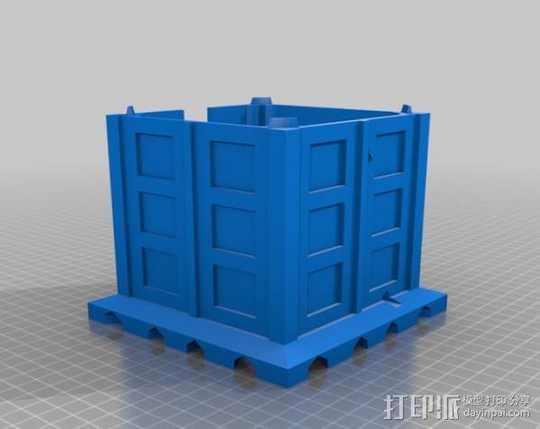 塔迪斯无线网络基站盒 3D模型  图3