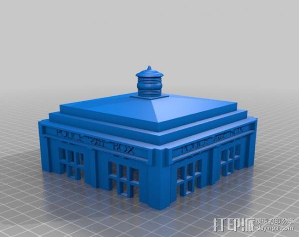 塔迪斯无线网络基站盒 3D模型  图4