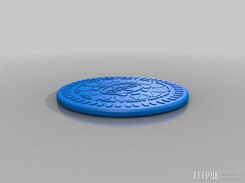 奥利奥饼干 3D模型  图1