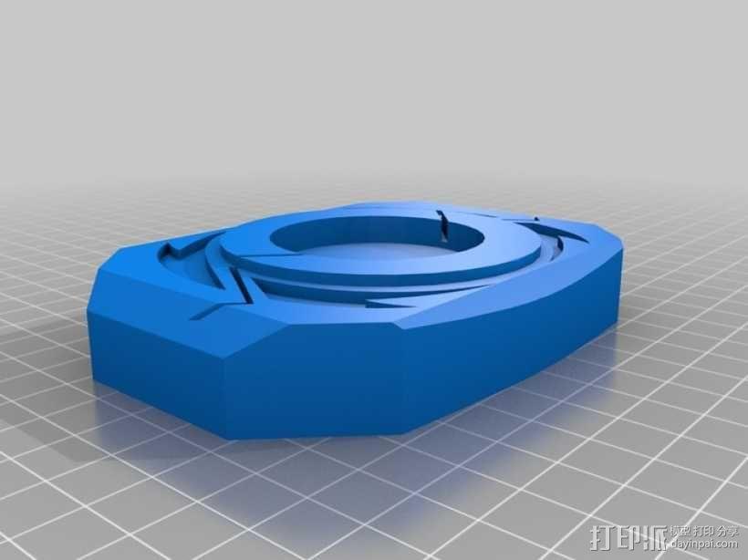 超级战队徽章标志 3D模型  图3
