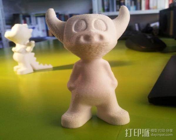 牛头怪小恐龙Manus 3D模型  图3