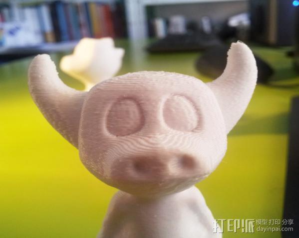 牛头怪小恐龙Manus 3D模型  图2