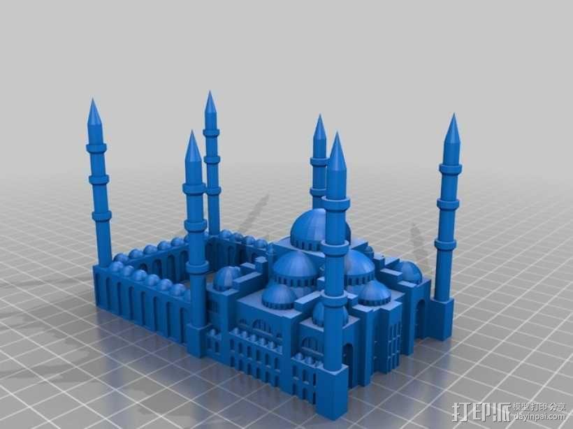 苏丹默哈默德清真寺 3D模型  图4