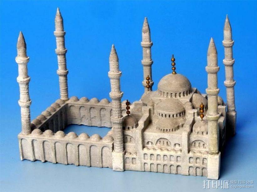 苏丹默哈默德清真寺 3D模型  图1