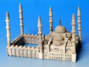 苏丹默哈默德清真寺 3D模型
