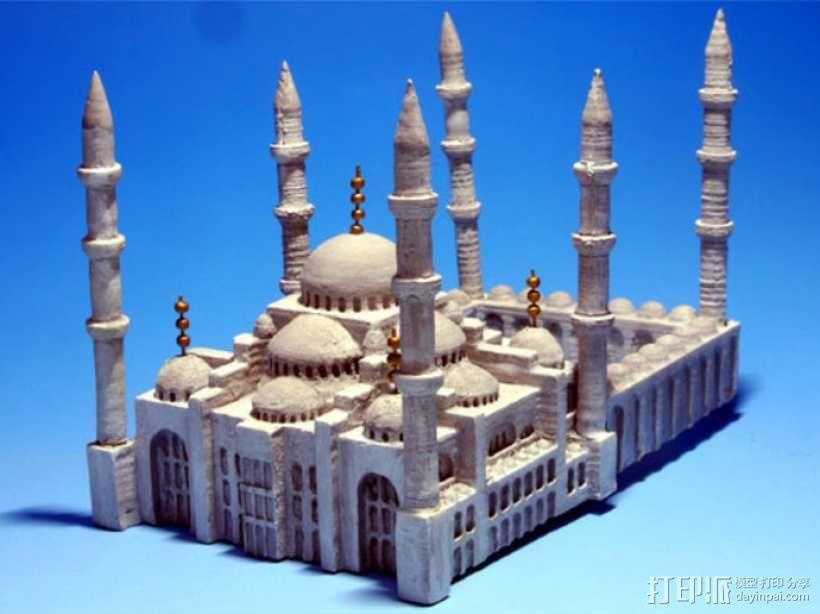 苏丹默哈默德清真寺 3D模型  图3