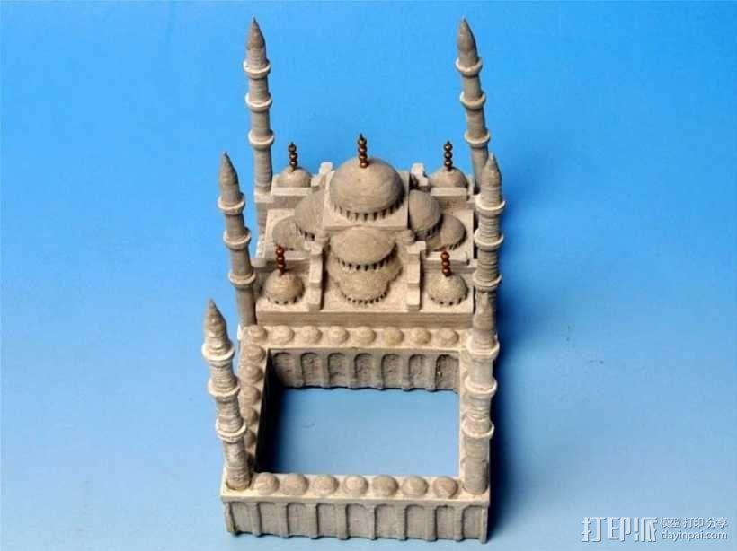 苏丹默哈默德清真寺 3D模型  图5
