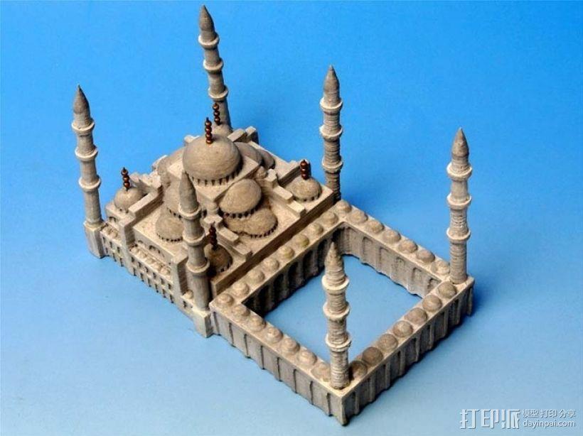 苏丹默哈默德清真寺 3D模型  图6