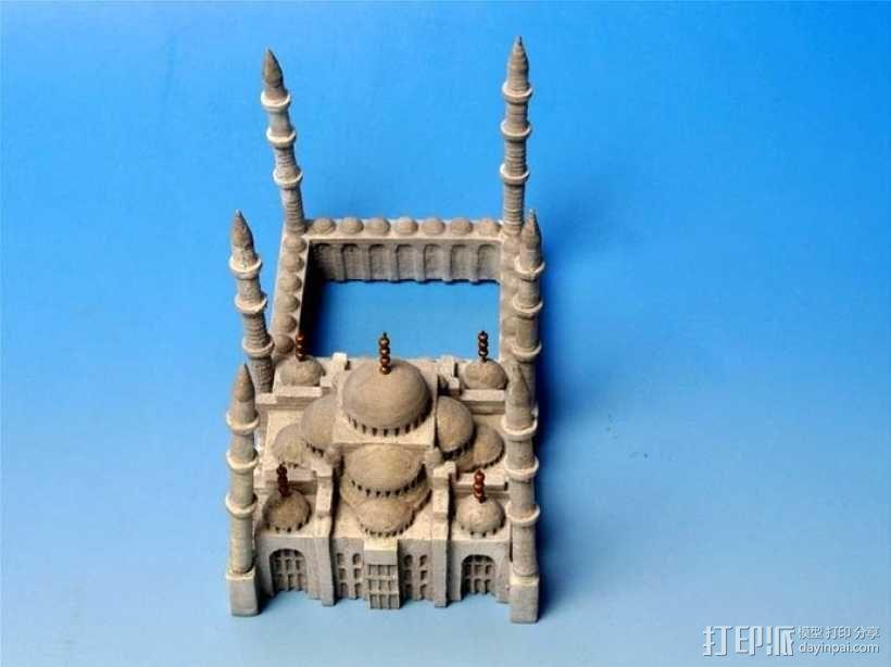 苏丹默哈默德清真寺 3D模型  图8