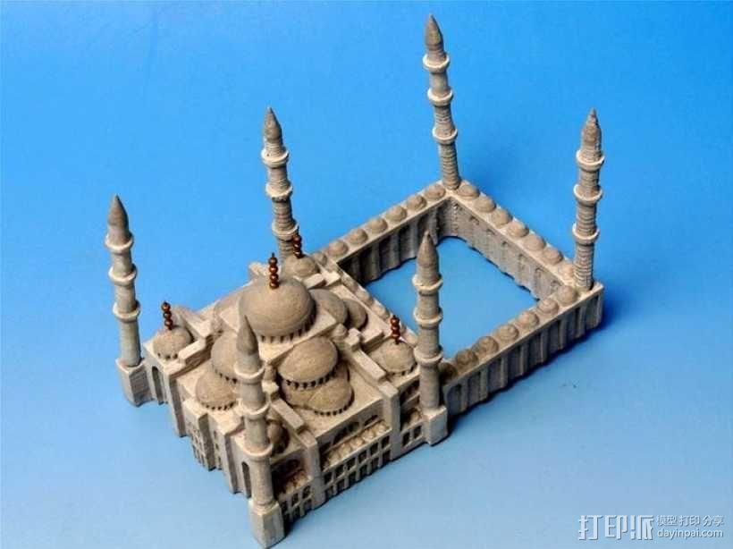 苏丹默哈默德清真寺 3D模型  图7