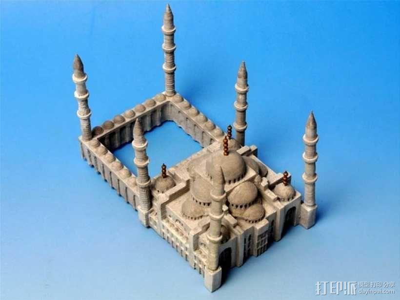 苏丹默哈默德清真寺 3D模型  图10