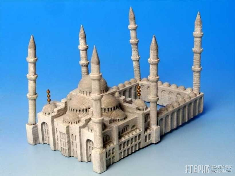 苏丹默哈默德清真寺 3D模型  图9