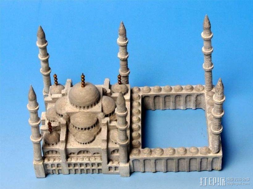 苏丹默哈默德清真寺 3D模型  图12