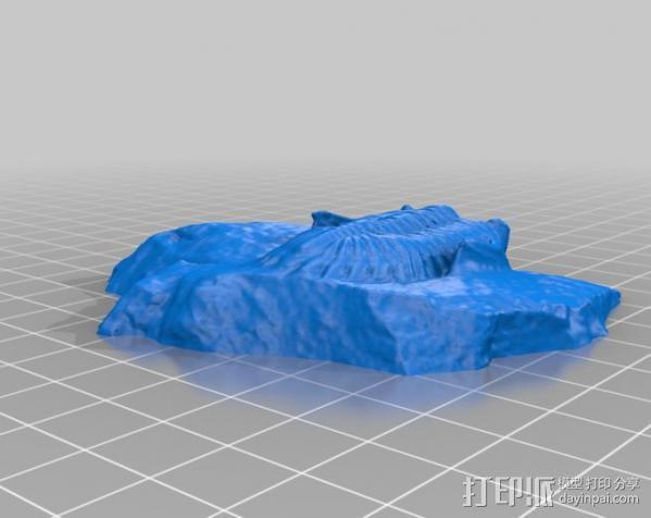 三叶虫 3D模型  图4