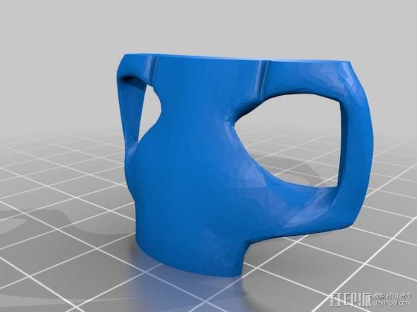 格里弗斯将军面具 3D模型  图5