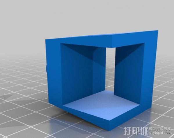 药丸盒 3D模型  图2