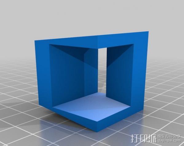 药丸盒 3D模型  图3