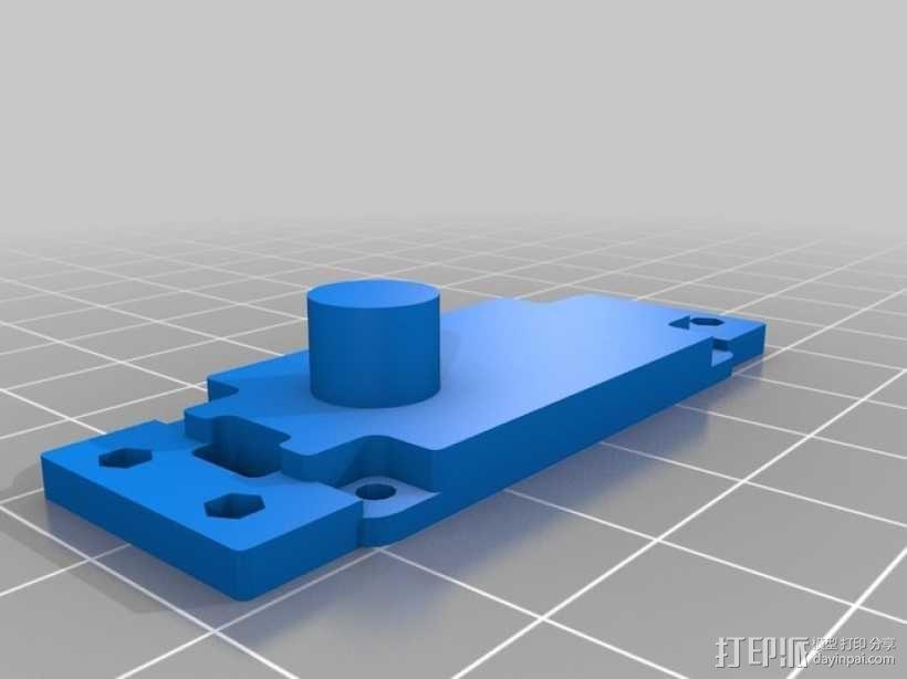 伺服器底板 3D模型  图2