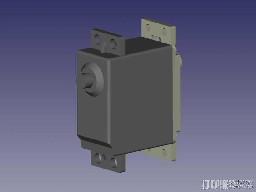 伺服器底板 3D模型  图9