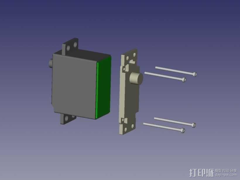 伺服器底板 3D模型  图10
