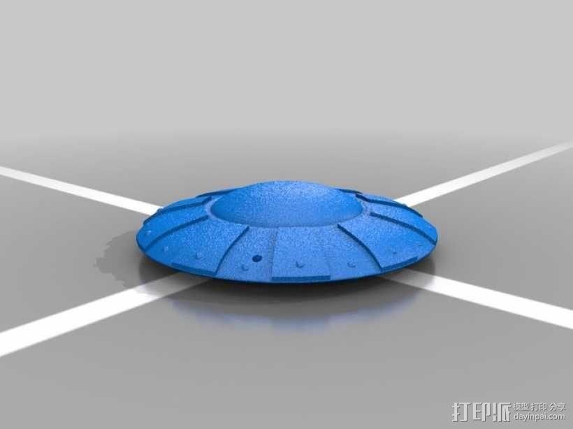 可悬挂式飞碟 3D模型  图1
