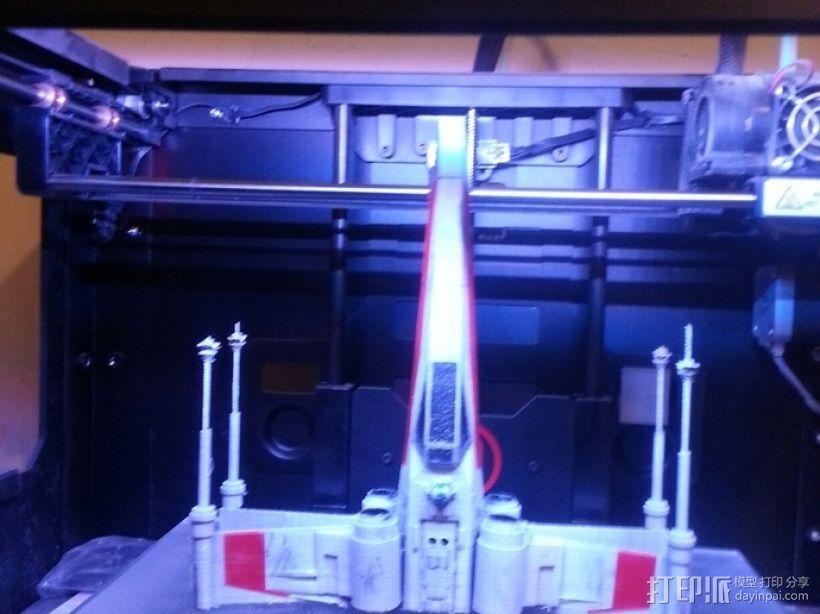 X翼战斗机 3D模型  图6