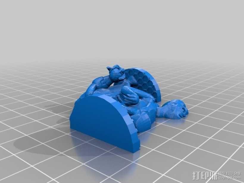 Xaar游戏造型 3D模型  图7