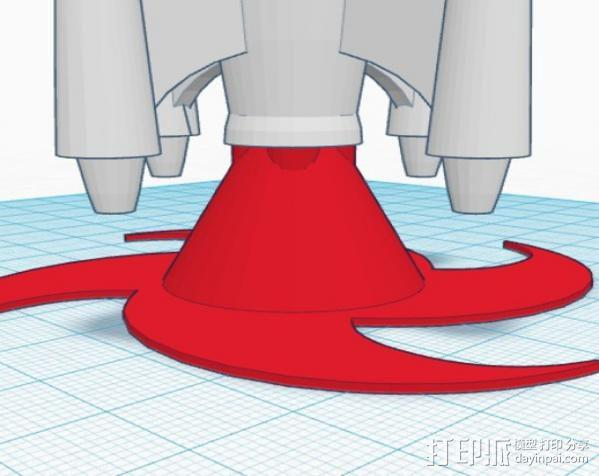 火箭模型 3D模型  图4