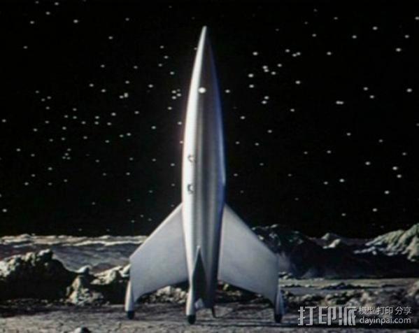 火箭模型 3D模型  图5