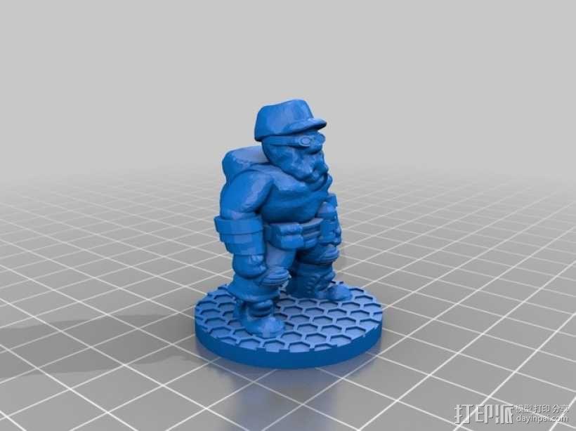 生化危机 爆破专家 3D模型  图2