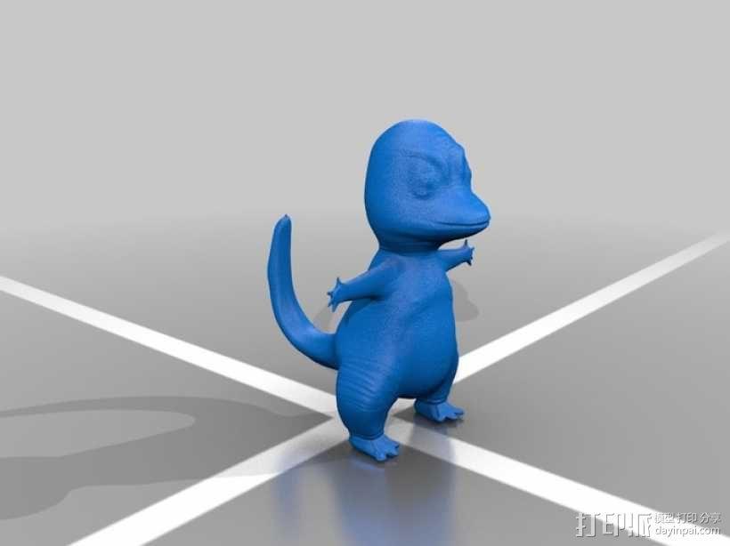 小火龙 3D模型  图1