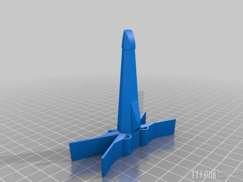 星际飞船 3D模型  图1