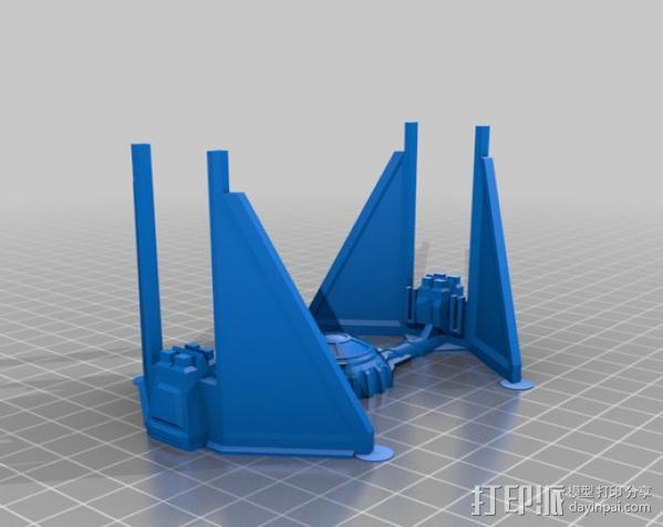 星际飞船 3D模型  图2