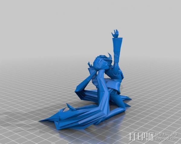 初音未来 3D模型  图2