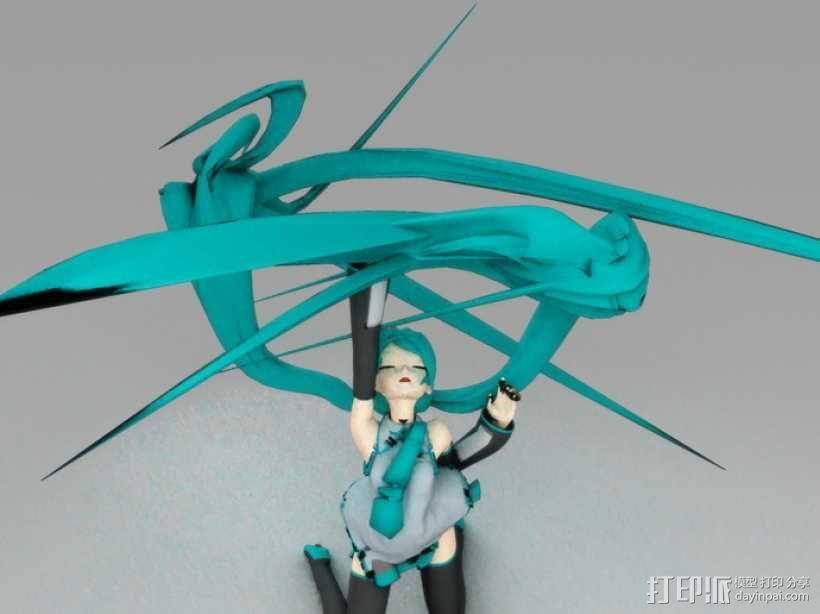 初音未来 3D模型  图10