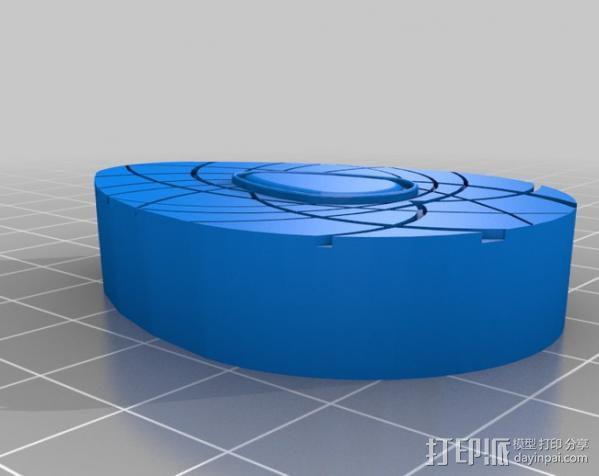 护身符 吊坠  3D模型  图3