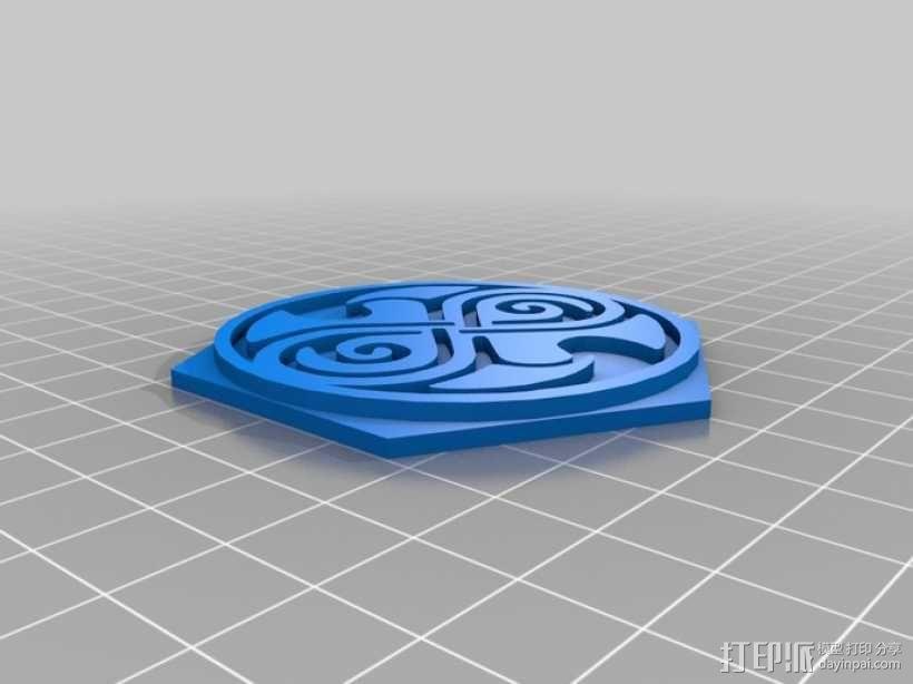 时间领主饼干切割器 3D模型  图1
